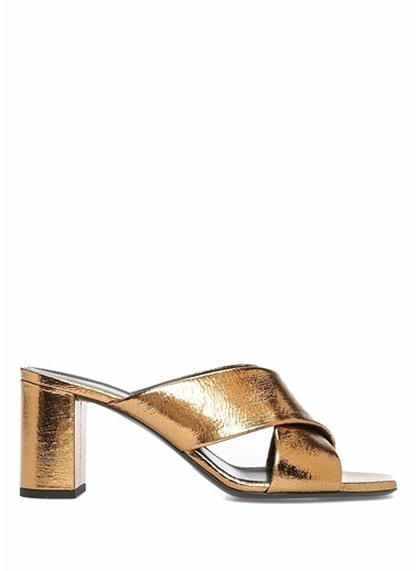 Saint Laurent Sandalet Bronz